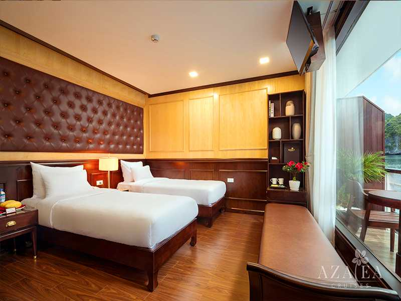 Premium Ocean View - 2 Pax/ Cabin (Location: 2nd Deck - Private Balcony)