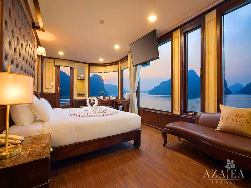 Azalea Exclusive Suite - 2 Pax/ Cabin (Location: 2nd Deck - Jacuzzi, Private Balcony)