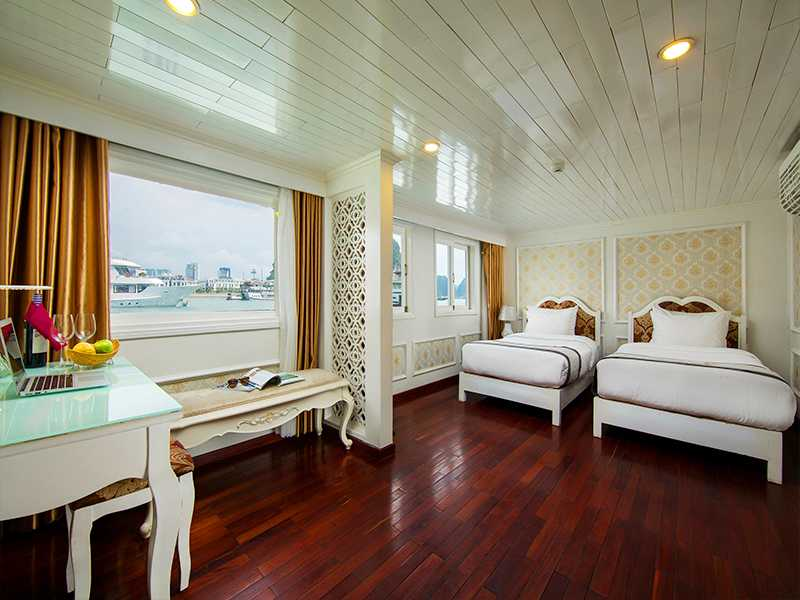Junior Suite Ocean Views - 2 Pax/ Cabin (Location: 1st Deck - Ocean View)