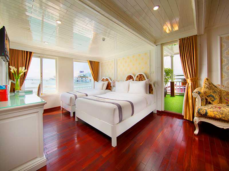 Exclusive Family Suite - 3 Pax/ Cabin (Location: 2nd Deck - Large Private Terrace)