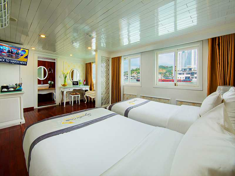 Junior Suite Ocean Views - 1 Pax/ Cabin (Location: 1st Deck - Ocean View)