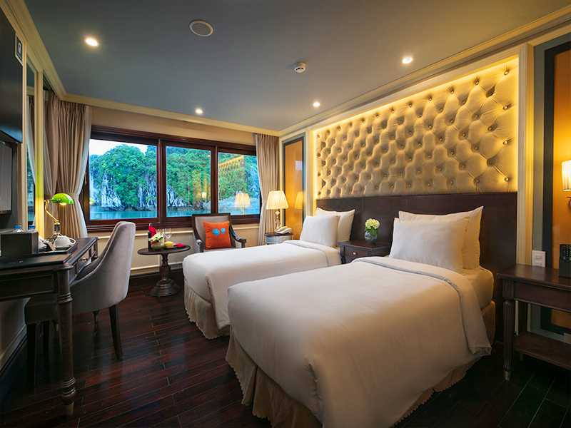 Athena Elegant Suite With Balcony - 1 Pax/ Cabin (Location: 2nd Deck - Private Balcony)