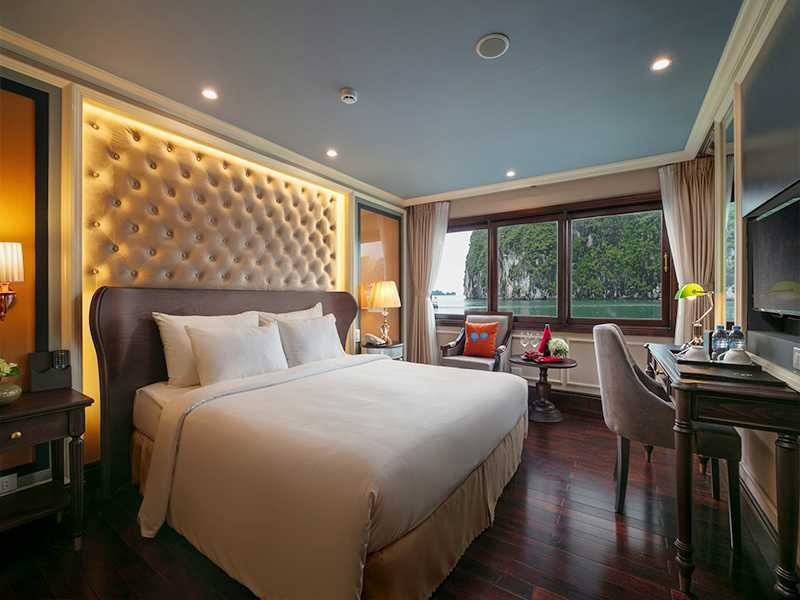 Athena Elegant Suite With Balcony - 2 Pax/ Cabin (Location: 2nd Deck - Private Balcony)