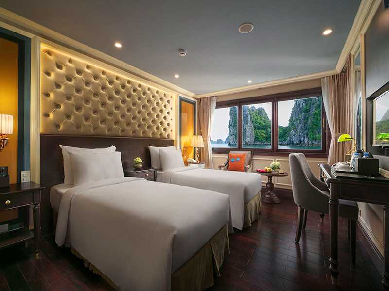 Executive Suite With Balcony - 2 Pax/ Cabin (Location: 1st Deck - Private Balcony)