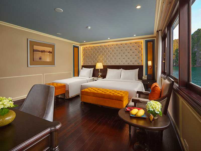 Family Triple Suite Balcony - 3 Pax/ Cabin (Location: 1st Deck - Private Balcony)