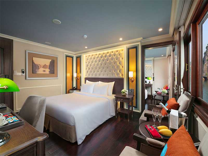 Family Connecting Suite - 4 Pax/ Cabin (Location: 2nd Deck - Private Balcony)