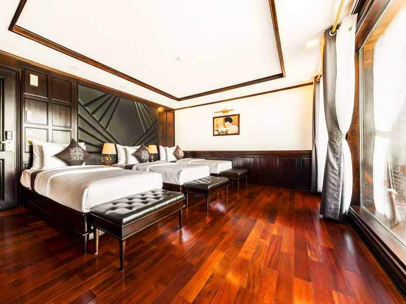 Queen Triple Suite - 3 Pax/ Cabin (Location: 2nd & 3rd Deck - Private Balcony)