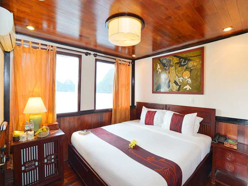 Deluxe Ocean View With Balcony - 2 Pax/ Cabin (Location: 2nd Deck - Private Balcony)
