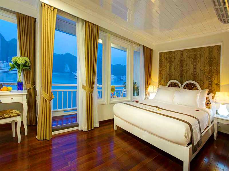 Signature Senior Suite - 1 Pax/ Cabin (Location: 2nd Deck - Private Balcony)