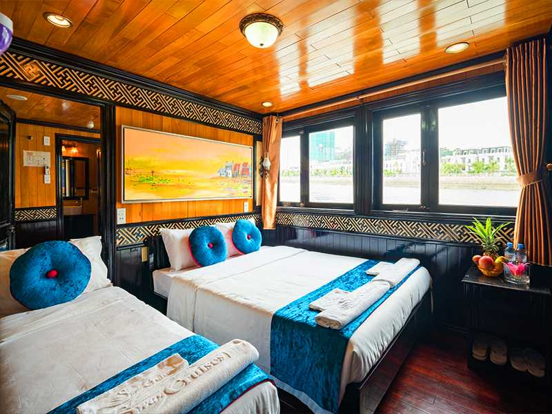 Deluxe Triple Sea View - 3 Pax/ Cabin