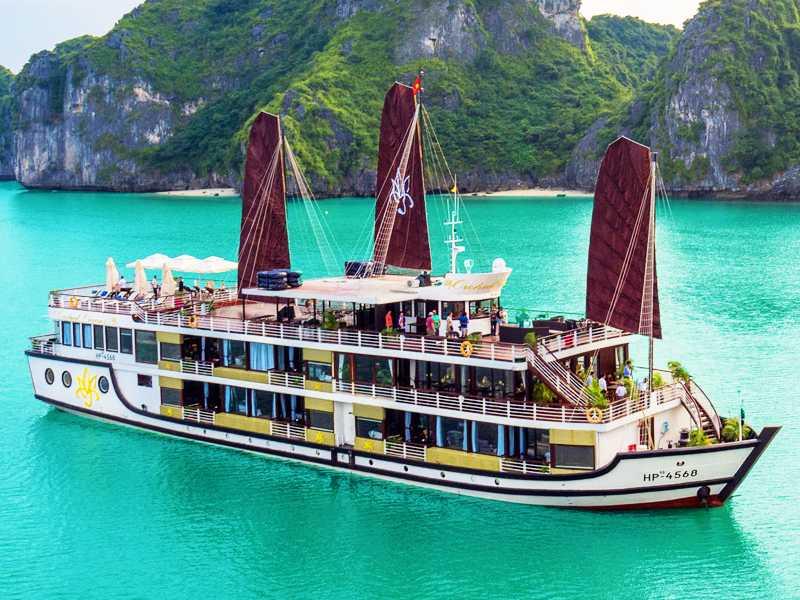 Orchid Cruise 2 Days 1 Night Halong Bay Lan Ha Bay 2 Days